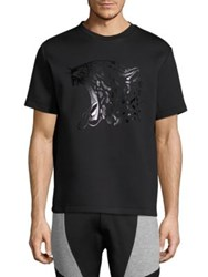 Markus Lupfer Graphic Printed Tee Black