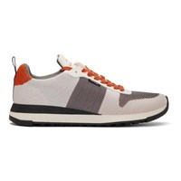Paul Smith Ps By White Recycled Knit Rappid Sneakers