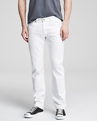 Ag Adriano Goldschmied Jeans Matchbox Slim Fit Bloomingdale's Exclusive White