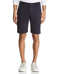Bloomingdale's The Men's Store At Twill Regular Fit Shorts 100 Exclusive Navy