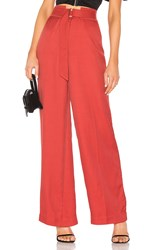 C Meo Collective Light Pant Red