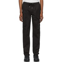 S.P. Badu Black Twill Cargo Pants