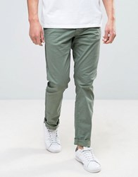 Only And Sons Slim Fit Chino Green