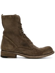 Officine Creative Hubble Boots Calf Leather Leather Calf Suede Rubber 36.5 Nude Neutrals