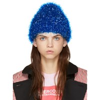 Undercover Bue Glossy Film Beanie