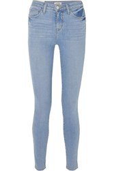L'agence Marguerite High Rise Skinny Jeans Light Denim
