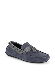 Brioni Classic Leather Moccasins Salt Water