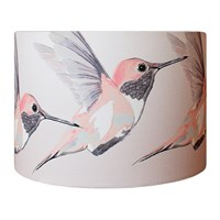 Anna Jacobs Rose Hummer Lamp Shade Pink