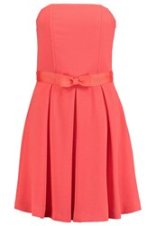 Morgan Cocktail Dress Party Dress Corail Coral