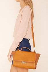 Forever 21 Faux Leather Trapeze Bag