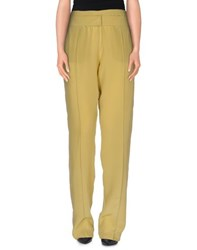 Uniqueness Trousers Casual Trousers Women Military Green