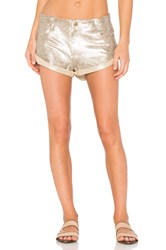Spell And The Gypsy Collective Bond Girl Short Metallic Gold
