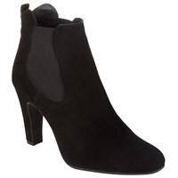 Alice By Temperley Somerset By Alice Temperley Othery Block Heeled Chelsea Boot Black Suede