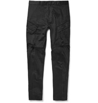 Nikelab Acg Tapered Stretch Cotton Cargo Trousers Black