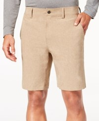 32 Degrees Men's 9 Shorts Khaki Mel