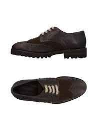 Swamp Lace Up Shoes Dark Brown