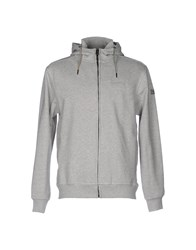 Duck And Cover Sweatshirts Grey