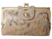 Hobo Alice Metallic Star Burst Wallet Handbags White