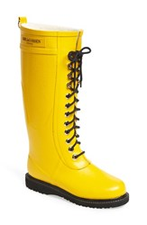 Women's Ilse Jacobsen Hornb K Rubber Boot Cyber Yellow