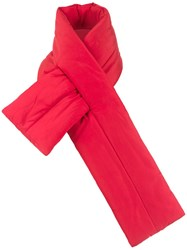 Uma Raquel Davidowicz Quilted Miss Scarf Red