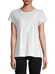 X By Gottex Lazy Day Short Sleeve Top White