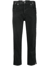 3.1 Phillip Lim Tapered Jeans Black