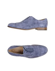 Tod's Lace Up Shoes Lilac