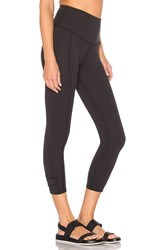 Beyond Yoga X Kate Spade Cinched Side Bow Legging Black