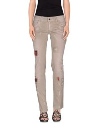 Met In Jeans Denim Denim Trousers Women Dove Grey
