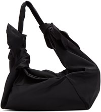 Simone Rocha Black Little Double Bow Bag