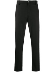 Calvin Klein Logo Patch Tapered Leg Trousers 60