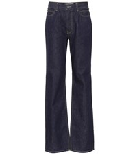 Calvin Klein 205W39nyc High Waisted Straight Leg Jeans Blue