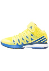 Adidas Performance Energy Volley Boost Volleyball Shoes Bright Yellow Blue Mystery Blue