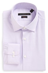 John Varvatos Men's Big And Tall Star Usa Soho Slim Fit Stretch Solid Dress Shirt Lavender