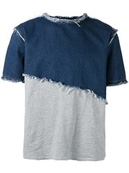 Andrea Crews Fleeco T Shirt Blue
