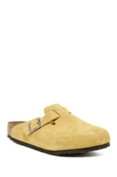 Birkenstock Boston Soft Footbed Clog Yellow