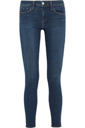 L'agence Chantal Low Rise Skinny Jeans Dark Denim