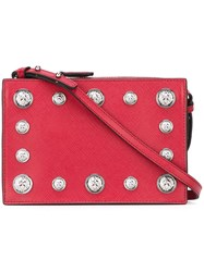 Versus Studded Crossbody Bag Red