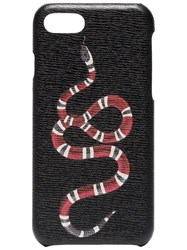 Gucci Black Snake Print Iphone 8 Case
