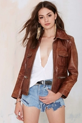 Nasty Gal Vintage Penny Lane Leather Jacket