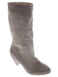 Marsell Mid Calf Boot Grey