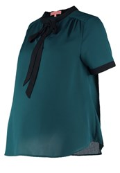Mintandberry Mom Blouse June Bug Dark Green