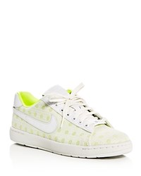 Nike Tennis Classic Ultra Polka Dot Lace Up Sneakers White