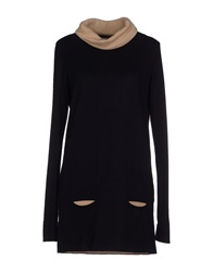 Kangra Cashmere Turtlenecks Black