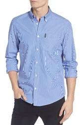 Ben Sherman Men's Stripe Woven Shirt