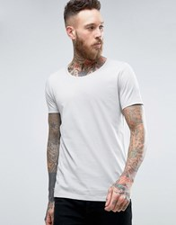 Asos T Shirt In Grey With Scoop Neck Paving