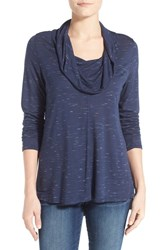 Women's Olivia Moon Cowl Neck A Line Top