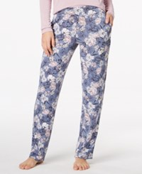 Alfani Knit Floral Print Pajama Pants Created For Macy's Spring Garden