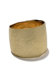 Wouters And Hendrix Gold 18Kt Gold Hammered Ring Yellow Gold