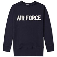 Ebbets Field Flannels 7Th Air Force Crew Sweat Blue